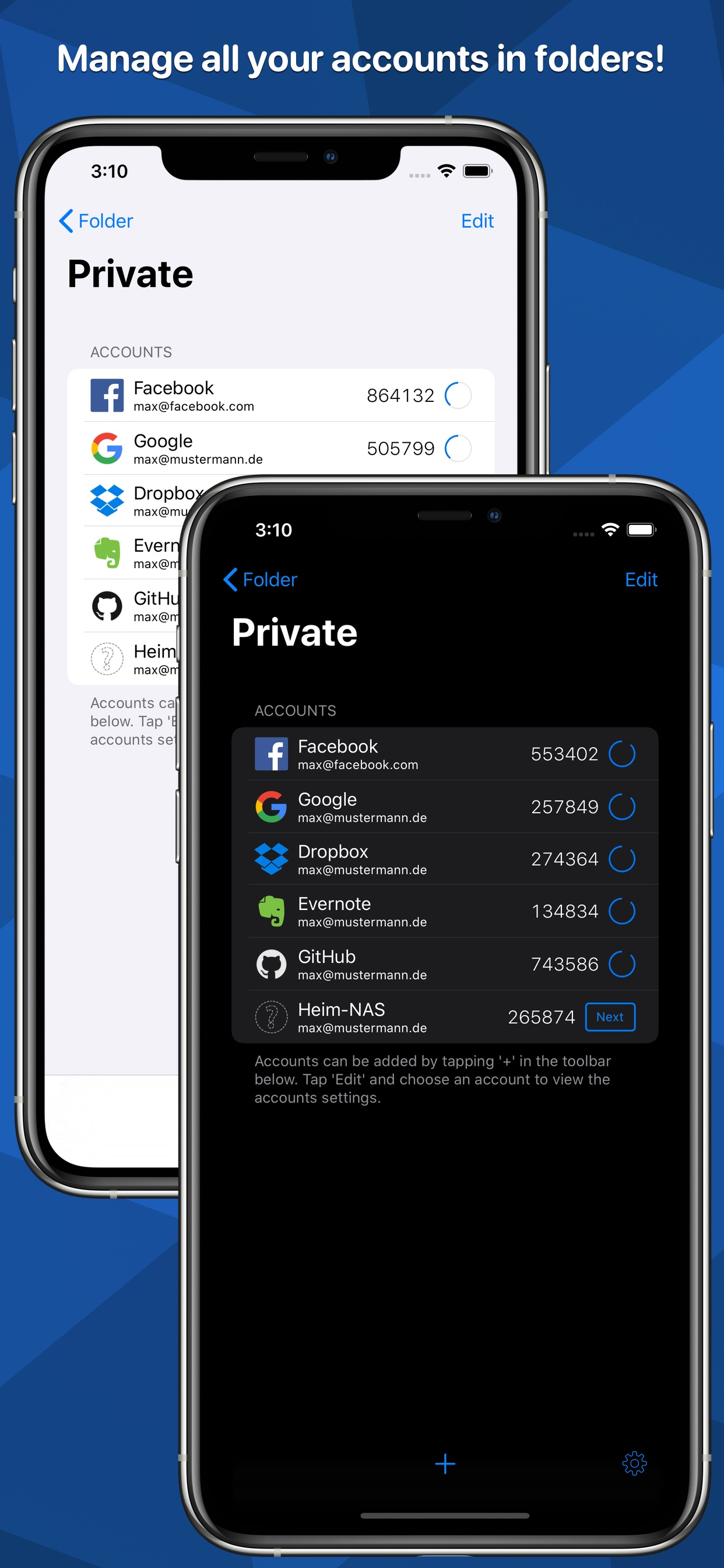 CooperRS - OTP Auth (iOS)